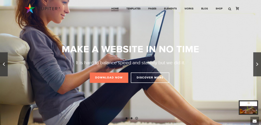 Responsive WordPress Multipurpose Theme