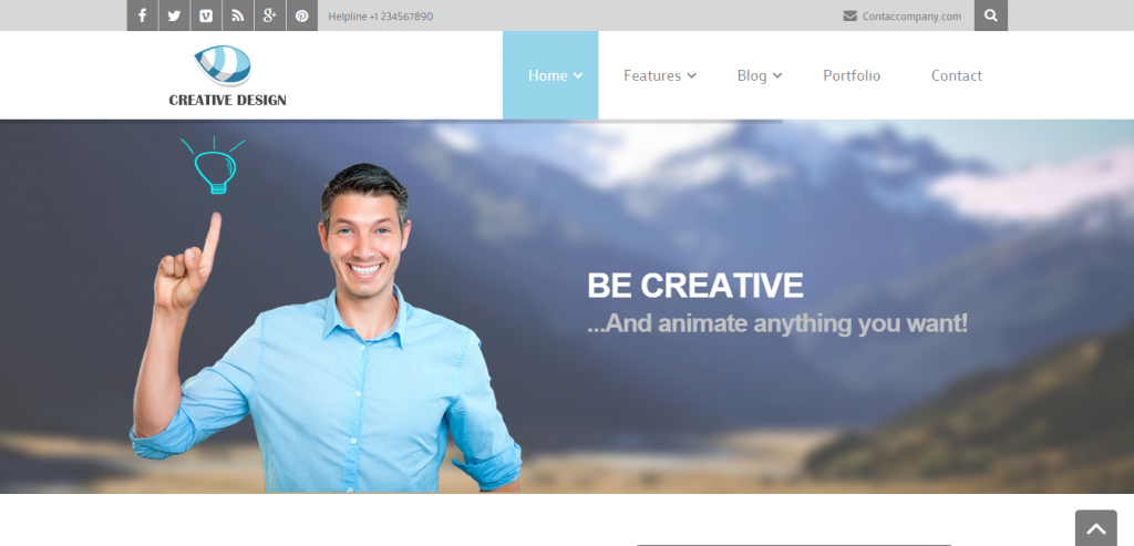 Top Business Joomla Template