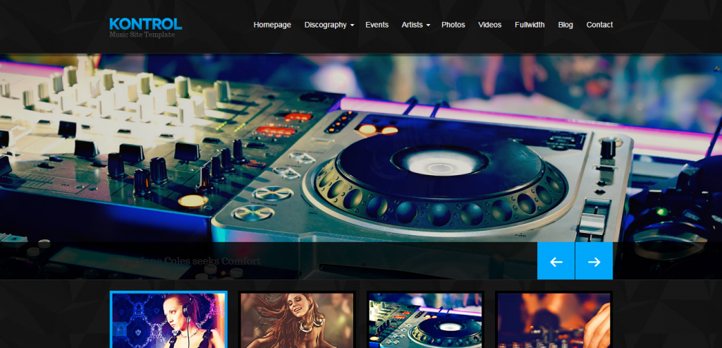 Top HTML Music Templates