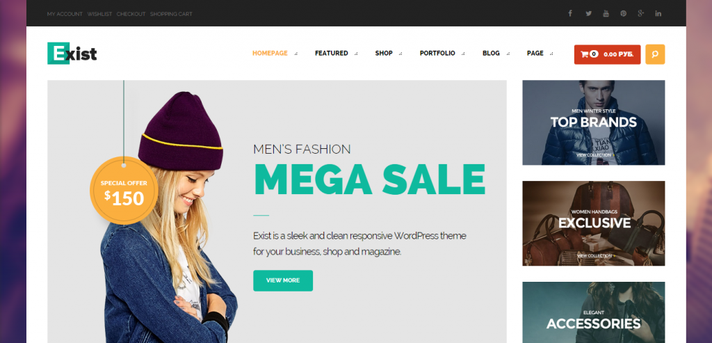 Top Multipurpose WordPress Template