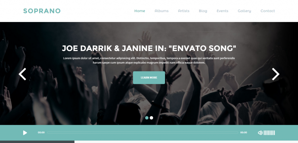 Top Music HTML Template