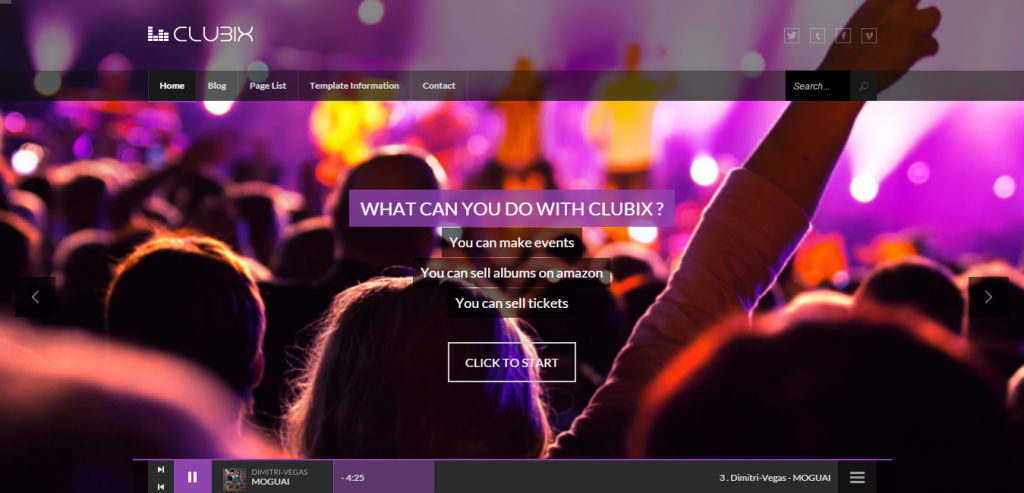 Top Music HTML Theme