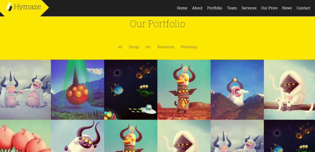 Top Portfolio Joomla Template