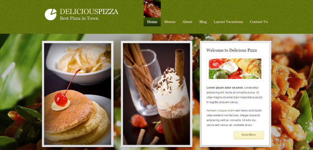 Top Restaurant HTML Themes