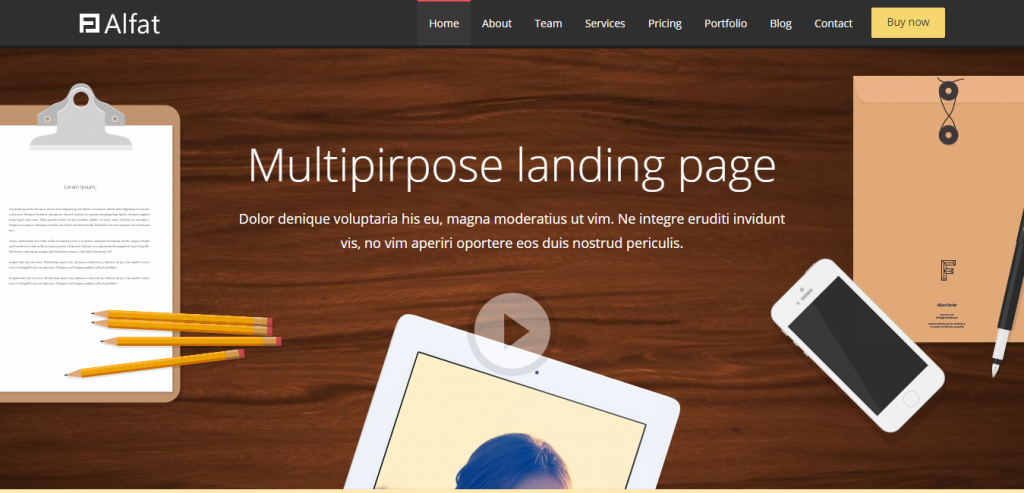Top Simple HTML Landing Page Themes