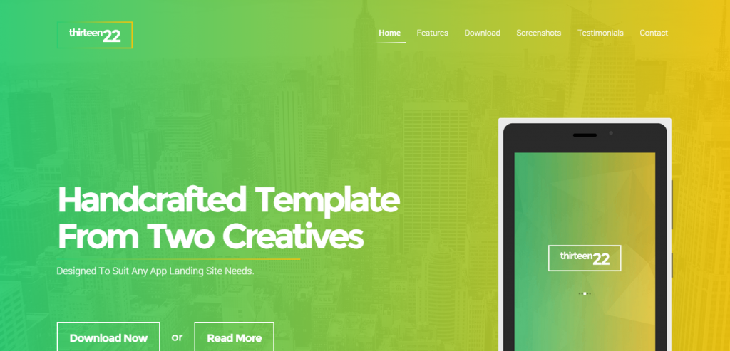 Top Simple Landing Page HTML Templates