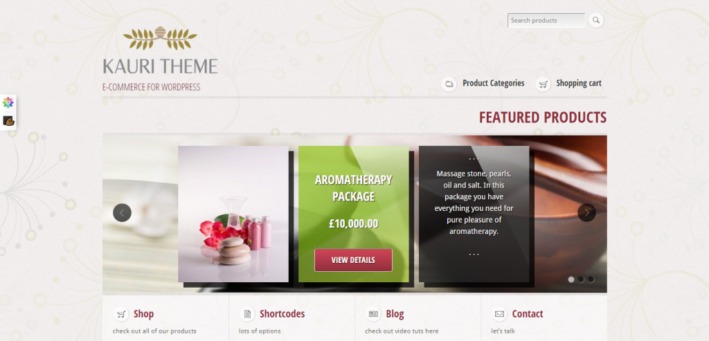 Top WP e-Commerce Theme