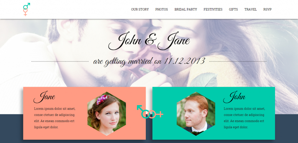 Top Wedding HTML Themes