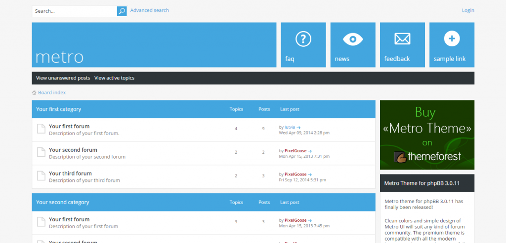 Top phpBB3 CMS Themes