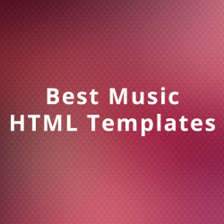 music-html-templates