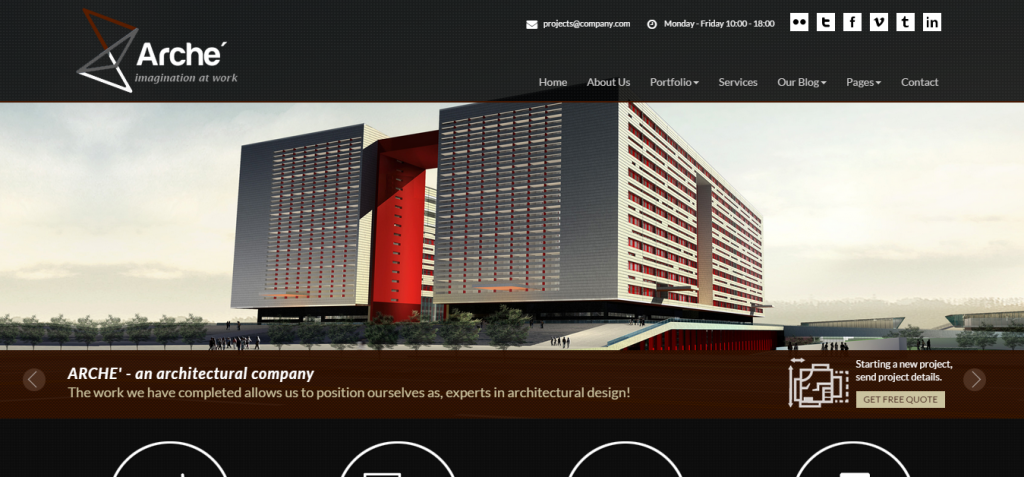 33 Best Architecture Html Templates Weelii