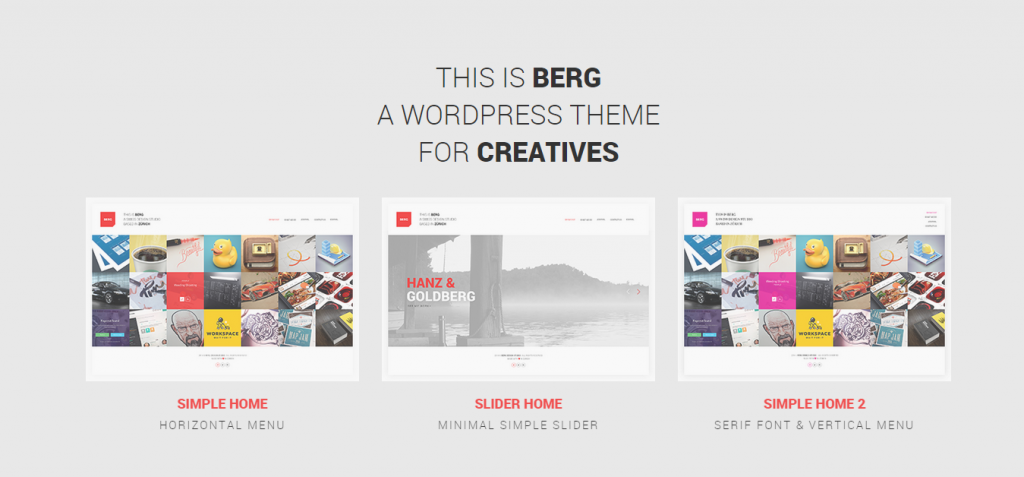 Berg Architecture WordPress Theme