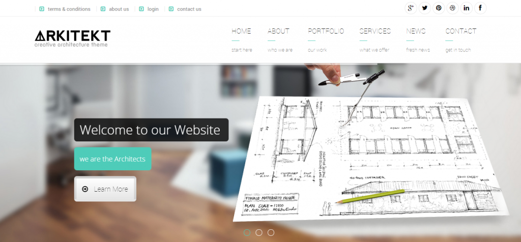 Buy Architecture WordPress Themes