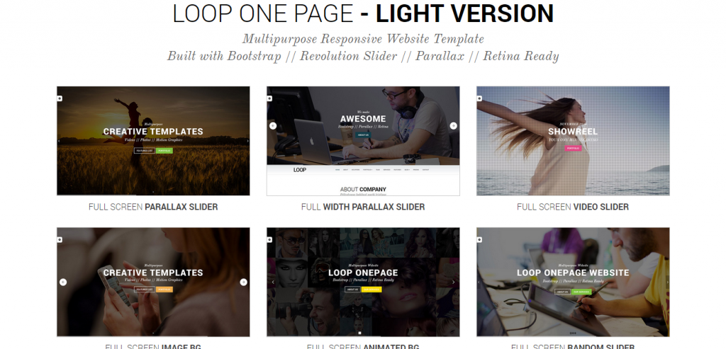 Buy Creative HTML Template