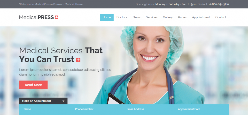 45 Best Dentistry WordPress Themes | Weelii