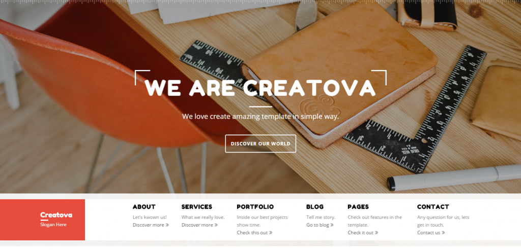 Creative Fluid Top HTML Template