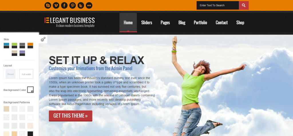 Elegant Business WordPress Theme Just another WordPress site