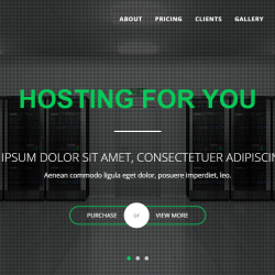 best hosting HTML Templates