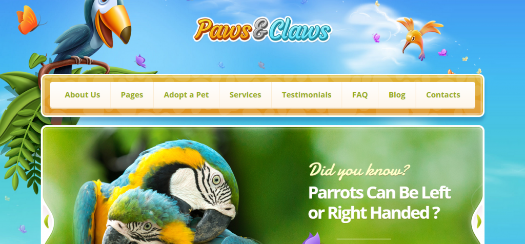 Free Pet Animal WordPress Themes