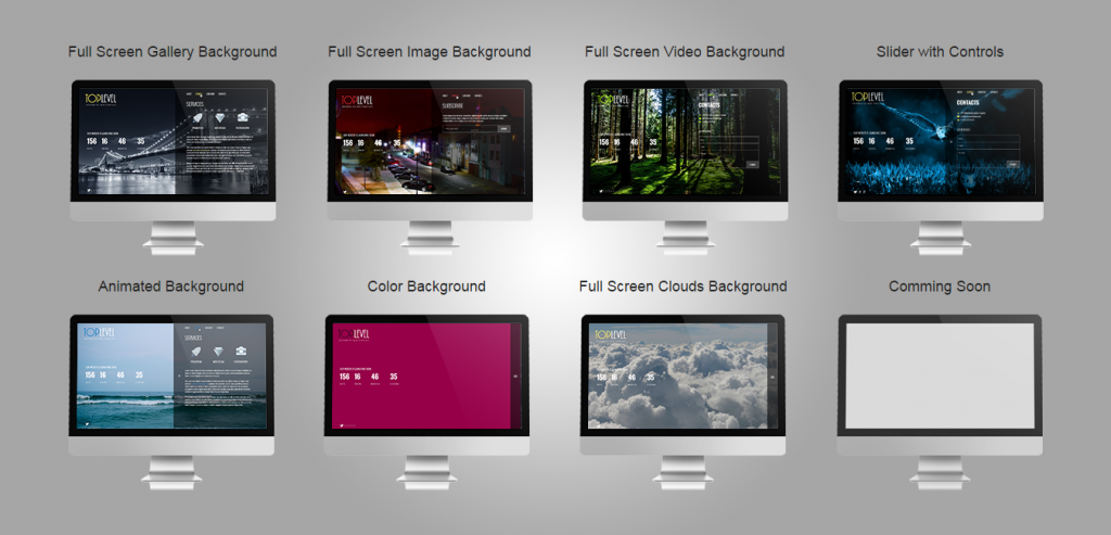 Free Responsive New Coming Template