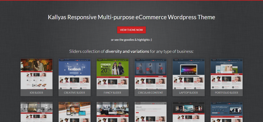 Kallyas Responsive Multi purpose WordPress Theme