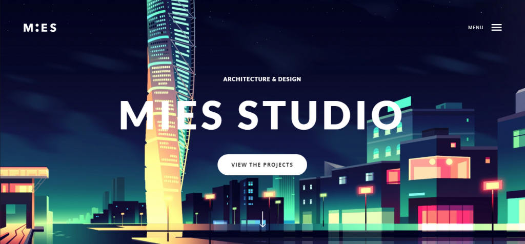 MIES An Avant Garde Architecture WordPress Theme