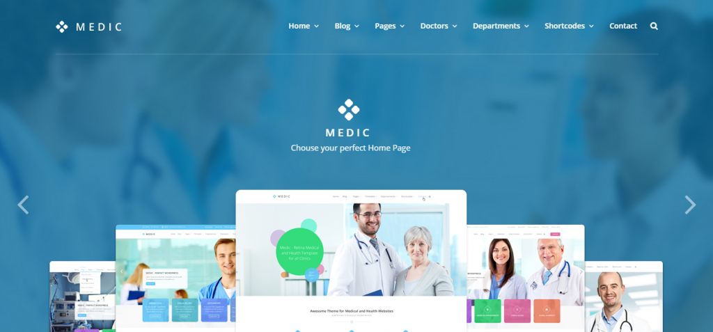 Medic – Medical Health and Hospital WordPress Theme