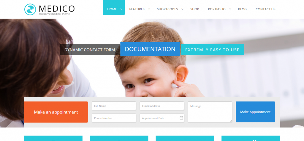 Medico – A General Purpose Corporate Medical Theme
