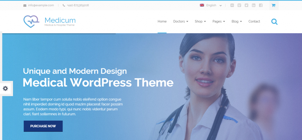 Medicum Medical Hospital Theme