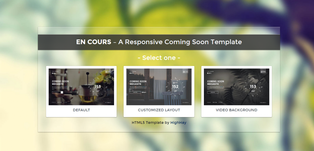 Mobile  Responsive Templates