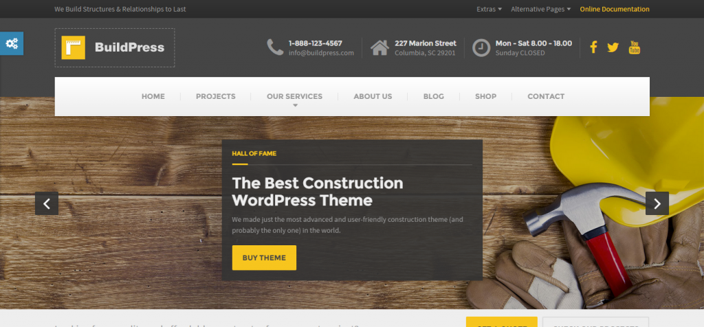 Modern Architecture WordPress Themes