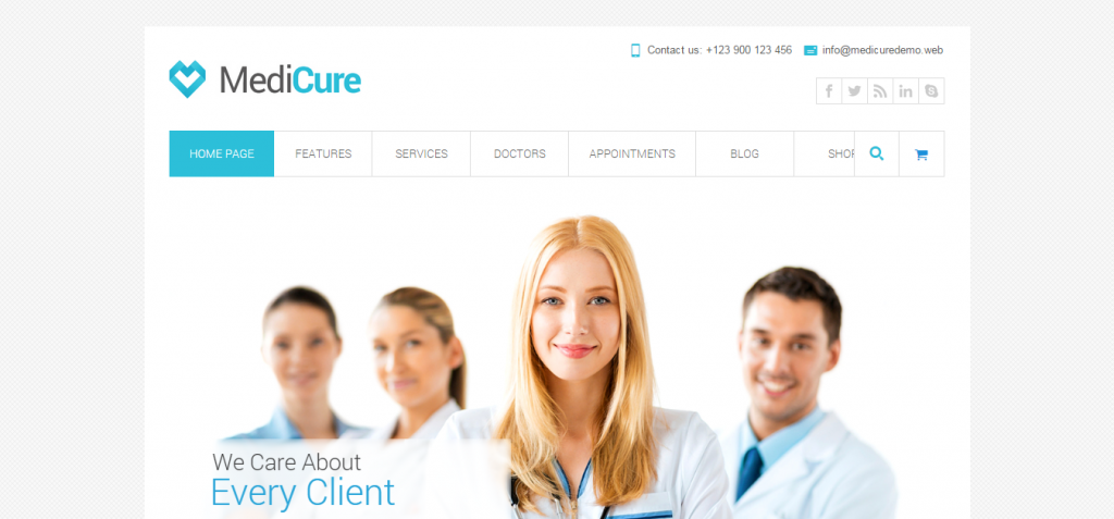 Modern Dentistry WordPress Themes