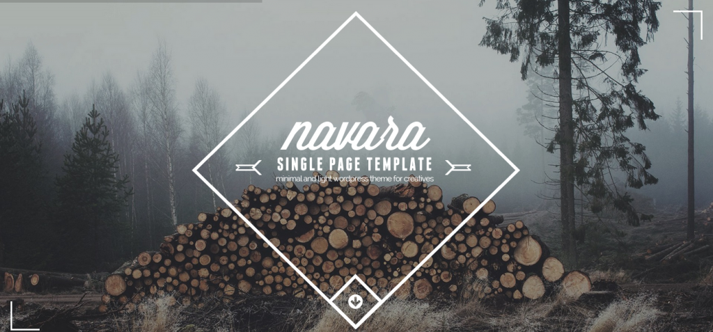 Navara – Ultimate one page theme
