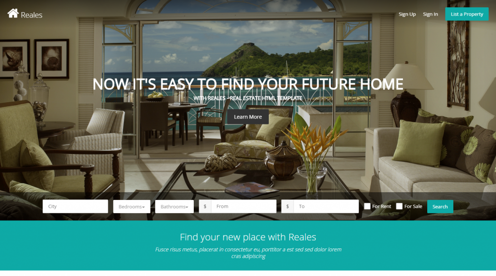 30 Best Real Estate HTML Templates | Weelii