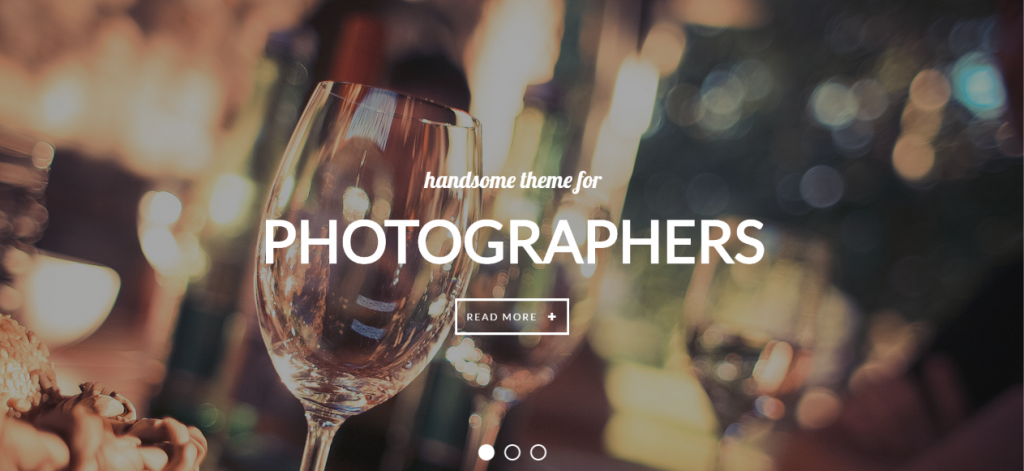 Photography & Creative WordPress Theme