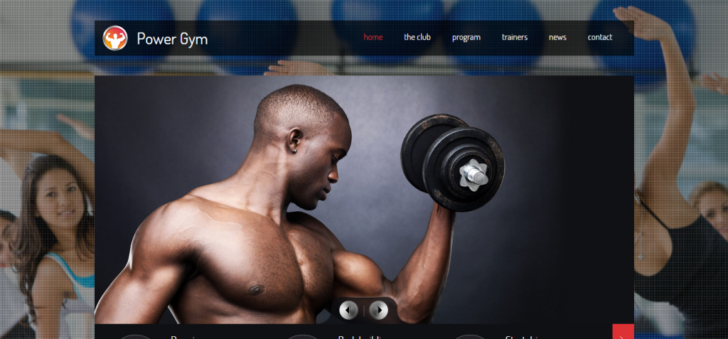 Power Gym   Responsive Fitness Club Template