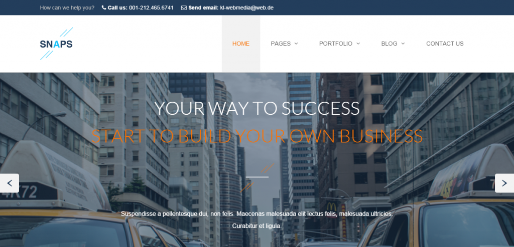Premium Business HTML Template