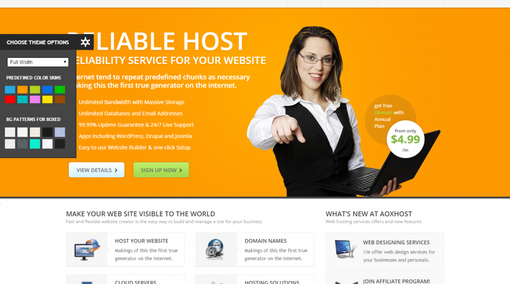 Premium Buy Host FreeTemplate
