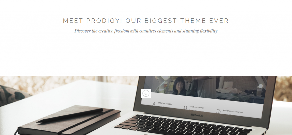 Prodigy Architecture WordPress Theme