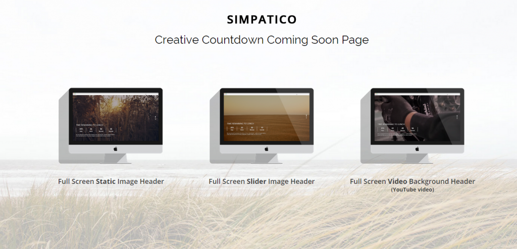 Site Responsive New Coming Templates