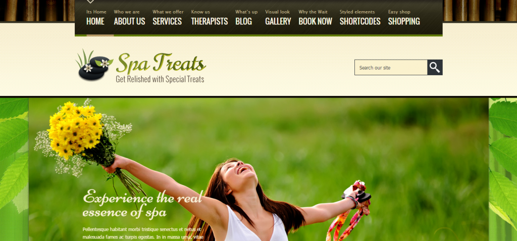 Spa Treats Spa Restaurant Theme Just another WordPress site