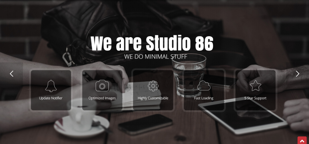 Studio 86 Architecture WordPress Theme