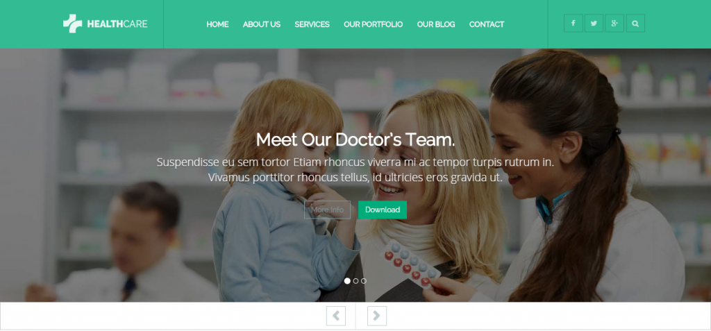 a Dentistry WordPress Themes