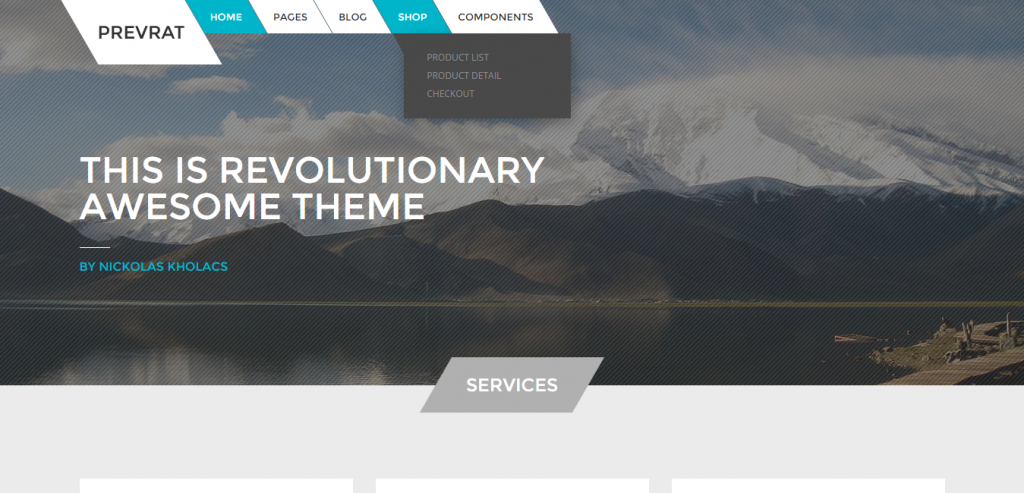 best fluid Html Template