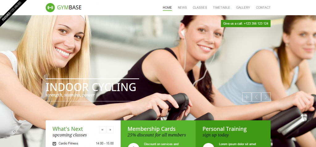 buy Sport and Fitness HTML Templates