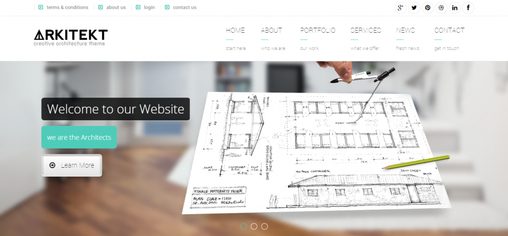 download Architecture HTML Templates