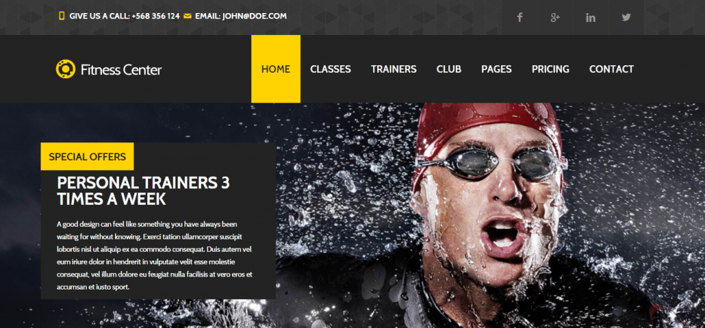 fit Sport and Fitness HTML Templates