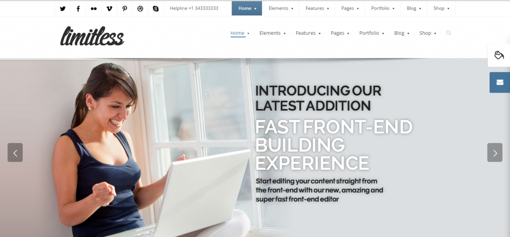 limitless Architecture WordPress Theme