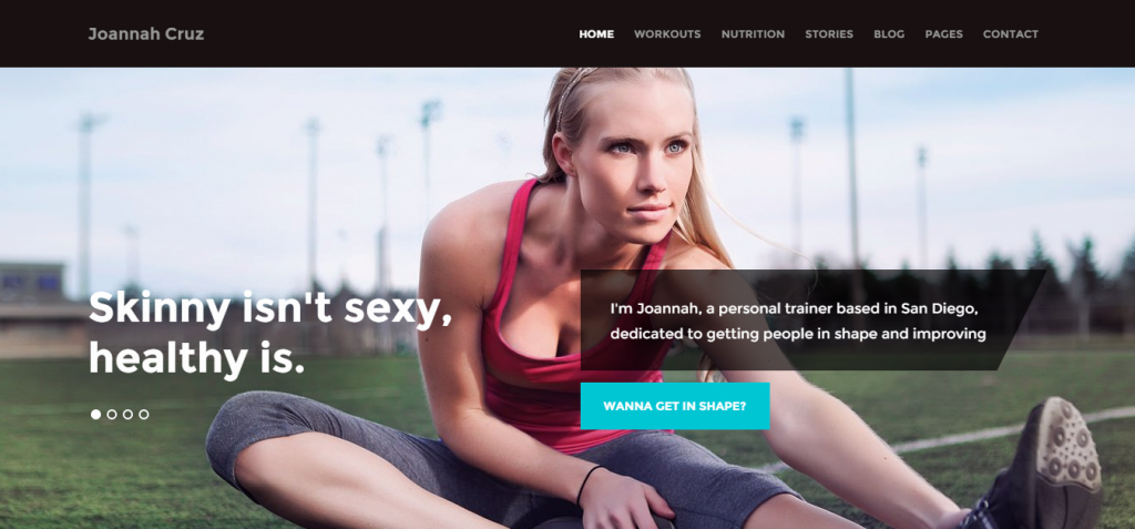 modern Sport and Fitness HTML Templates