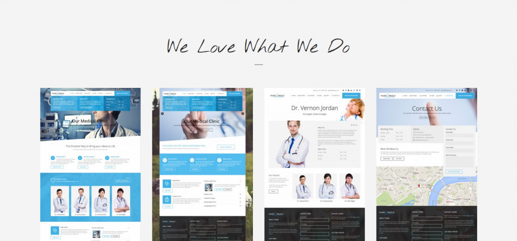 modernDentistry WordPress Themes